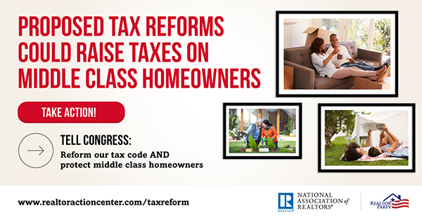 Reform our Tax Code and Protect Middle Class Homeowners